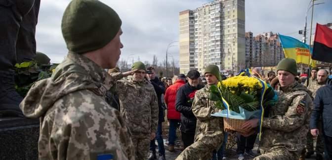 У Києві вшанували українських добровольців: фото
