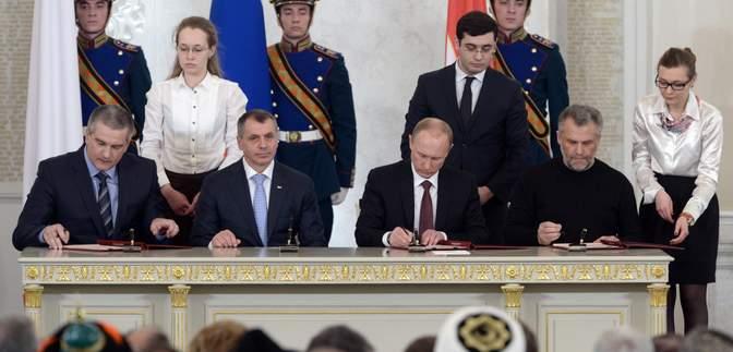 Фарс у Кремлі: як Росія 7 років тому вкрала український Крим