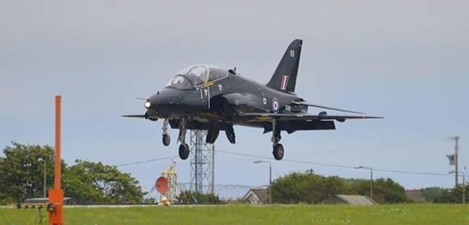 В Великобритании разбился самолет Королевских воздушных сил