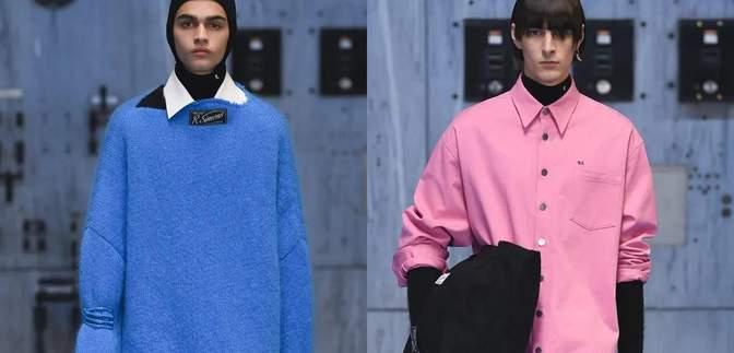 Стьобані куртки та яскраві светри: Раф Сімонс представив колекцію свого бренду