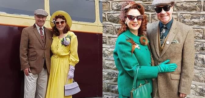 Пара не купувала новий одяг 6 років: вони створюють образи у стилі 40-х років – фото