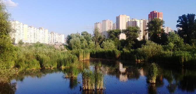 Ради очередной высотки: в Киеве снова хотят уничтожить озеро Утиное
