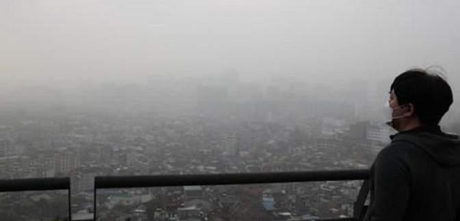 Японию и Южную Корею охватила мощная песчаная буря: фото