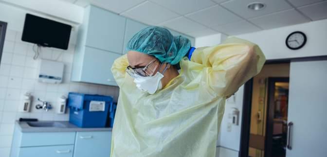 Уровень госпитализации пациентов с COVID-19 не превышен лишь в трех областях
