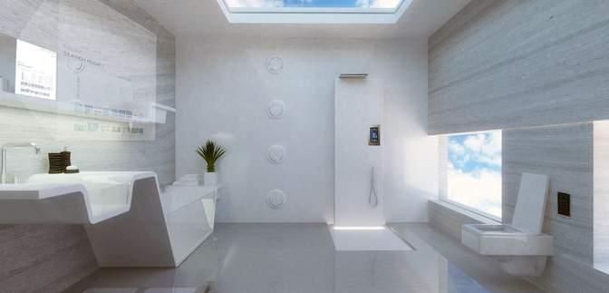 Какой будет ванная будущего: неожиданные решения в интерьере