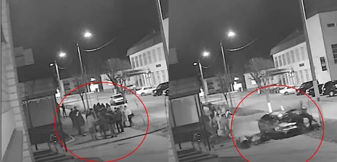 У Білорусі водій в'їхав у натовп людей: моторошний момент зафіксували камери
