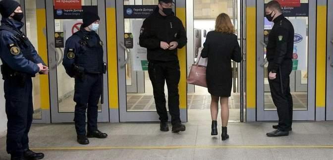 Через локдаун у метро Києва закрили деякі вестибюлі
