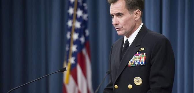 Пентагон вимагає Росію пояснити накопичення сил на кордоні з Україною