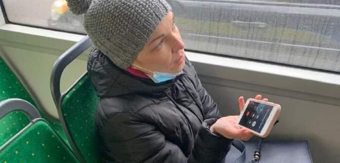 """У Львові депутатку від """"ЄС"""" оштрафували за безквитковий проїзд у тролейбусі: відео"""