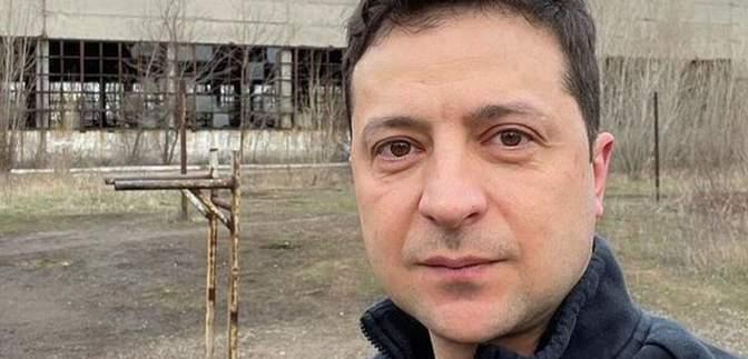 Зеленский показал фото из прифронтовой Авдеевки