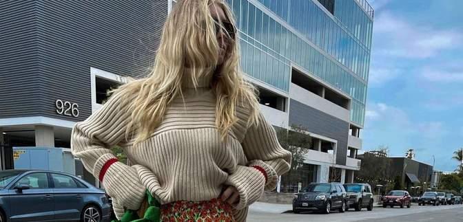 Какой образ подойдет для прогулки по городу: показывает шведская модель Эльза Хоск