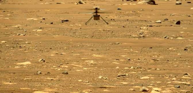 Другий політ на Марсі: апарат NASA знову піднявся у повітря на іншій планеті