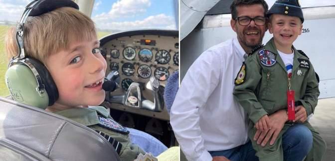 Батько подолав страх літати, аби допомогти сину здійснити мрію стати пілотом: зворушлива історія