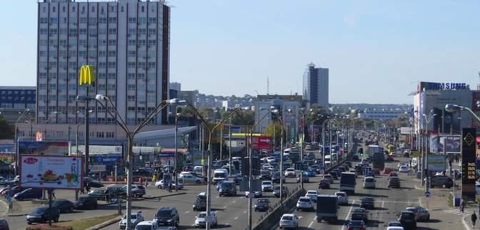 До конца месяца: в Киеве на Степана Бандеры ограничат движение транспорта