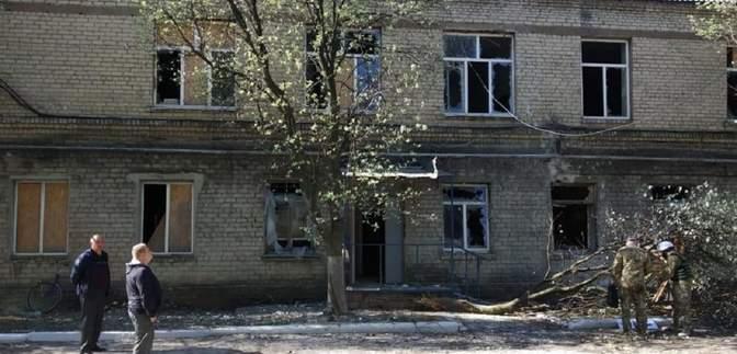 России не нужен мир в Украине, – штаб ООС об обстреле больницы в Красногоровке