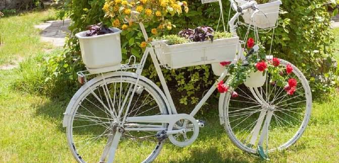 Як у Норвегії використовують старі велосипеди: ідеї з фото, які вам захочеться повторити
