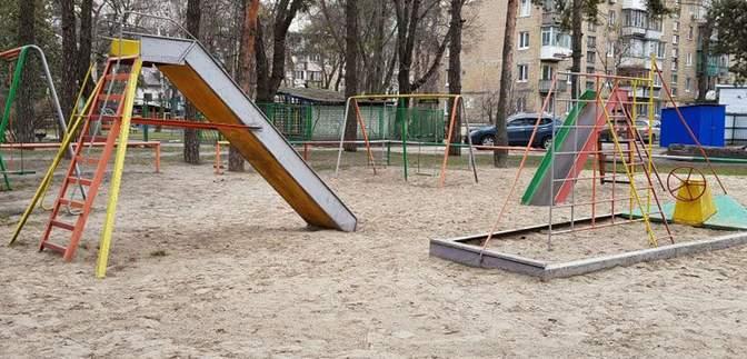 У Києві знайшли свиняче рило на дитячому майданчику: фото