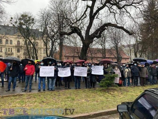Протести ліс Львів Лісгосп Броди Золочів