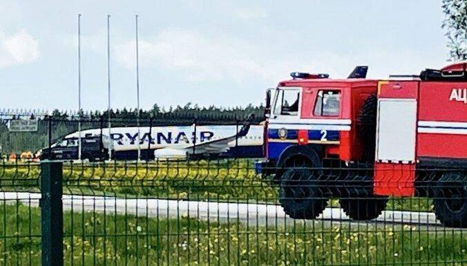 Літак у Мінську