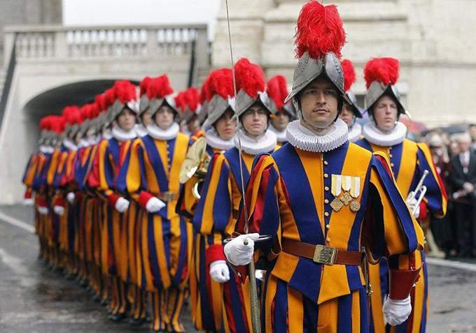 армія Ватикану
