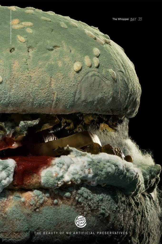Запліснявілий гамбургер Burger King отримав гран-прі Epica Awards