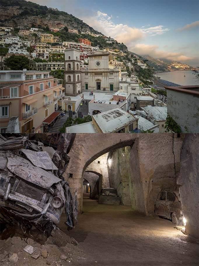 Неаполь та недобуваний шлях для евакуації