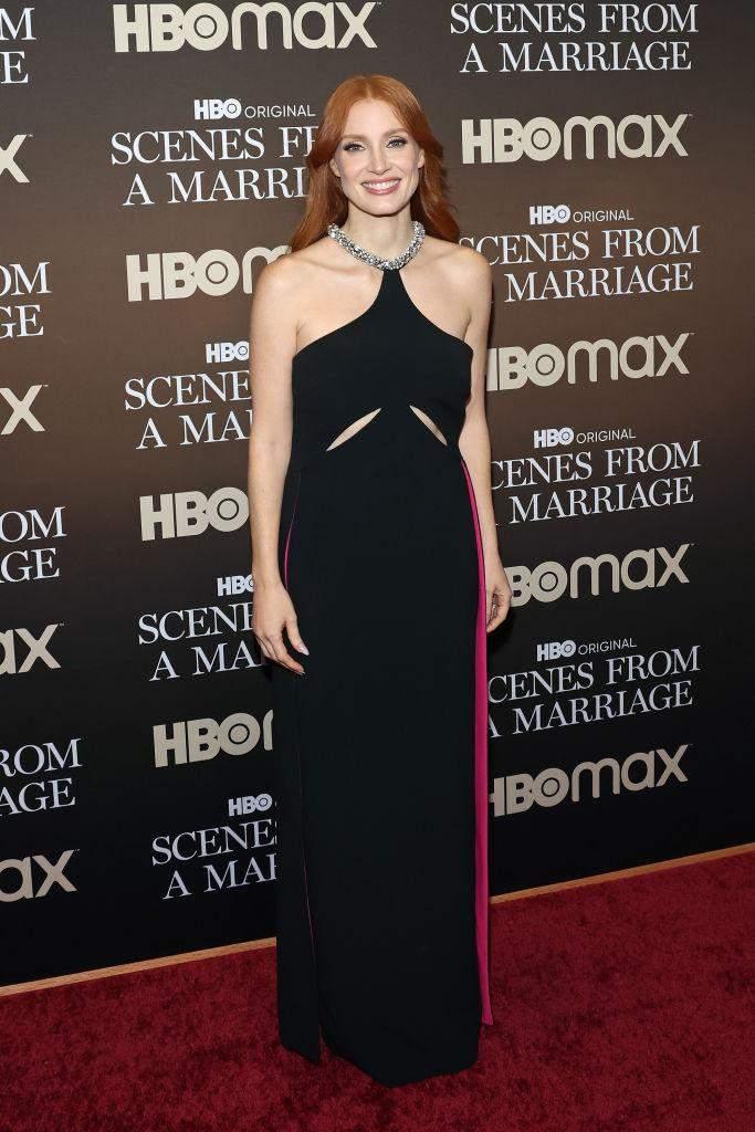 Джессіка Честейн у сукні від дизайнерки Стелли Маккартні / Фото з Getty Images