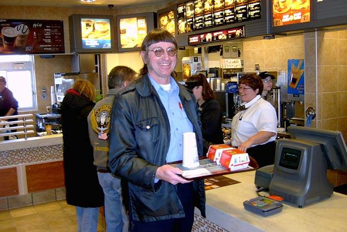 Дональд Горске з'їв понад 32 тисячі бігмаків