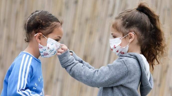 ДІти в масці