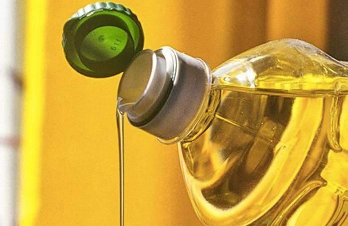 Пляшка олії