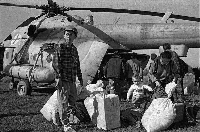 грузія біженці