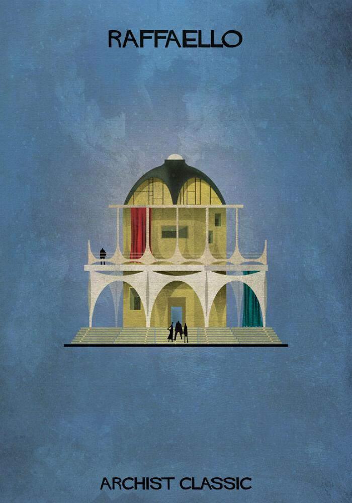 Цей художник створював би витончені будинки