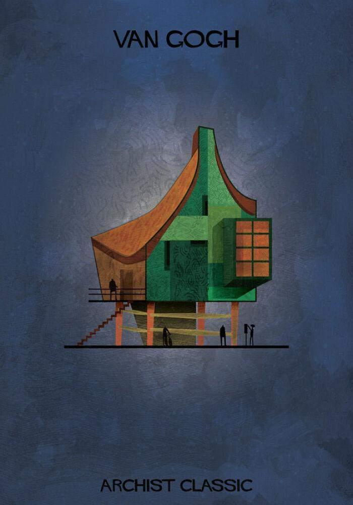 Будинок від ван Гога виглядає досить затишним