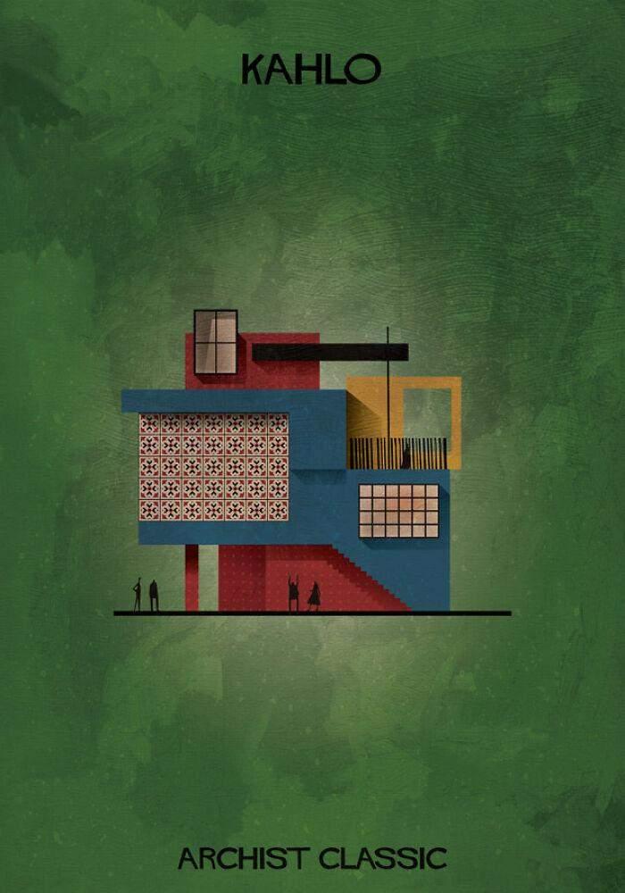 У її уявних будівлях багато кольору