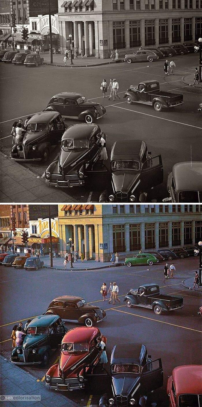 Субботний день в Флоренсе, Алабама, июнь 1942 Артур Ротштейн