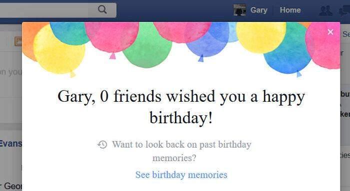 Приветствие от фейсбуке не добавляет радостных эмоций
