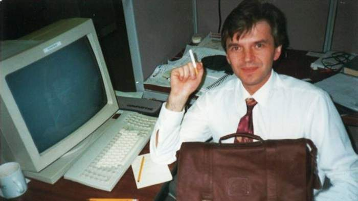 Юрій Янковський - перший український користувач інтернету