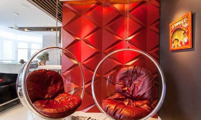 Крісла-кулі – культові меблі тієї епохи