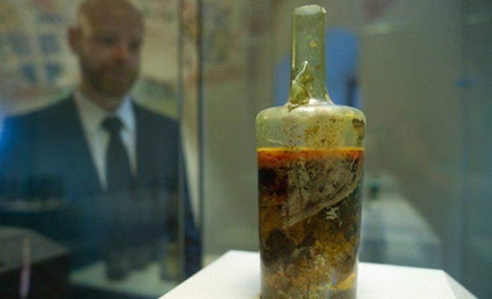 найстаріша пляшка вина цікаві факти про вино