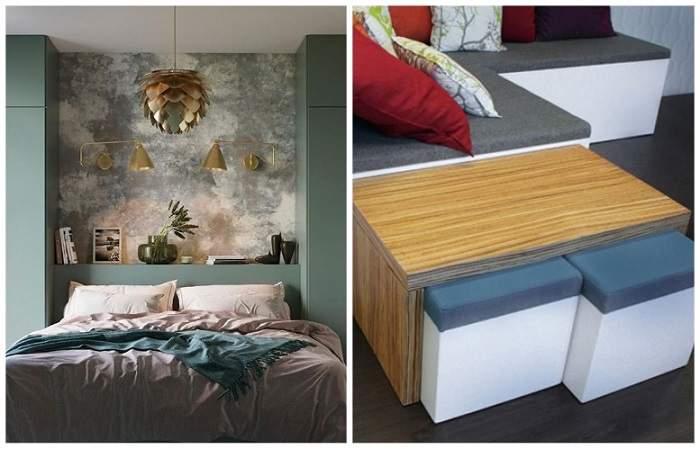Мебель-трансформер и стильные цветовые решения
