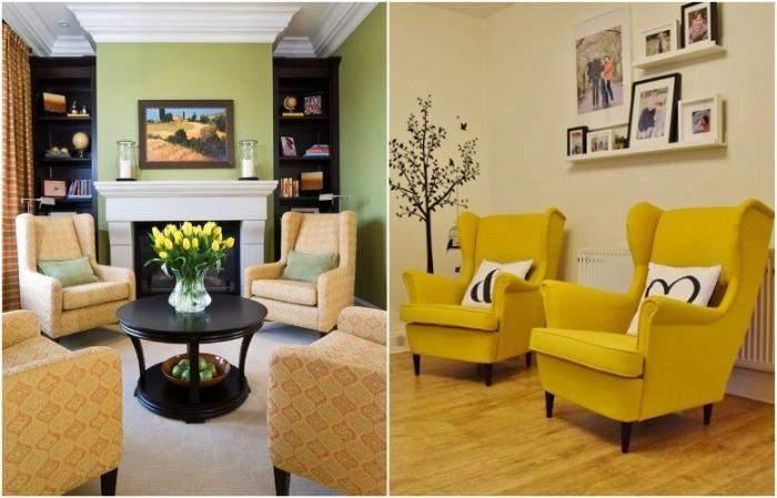 Крісла можуть стати альтернативою дивану