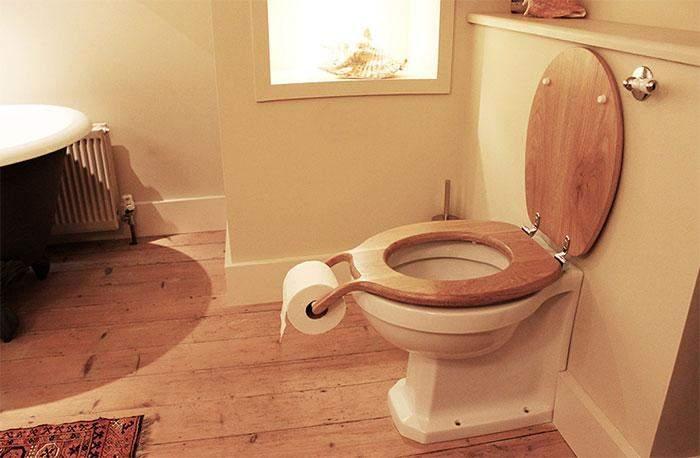 Вам не придется долго искать туалетную бумагу