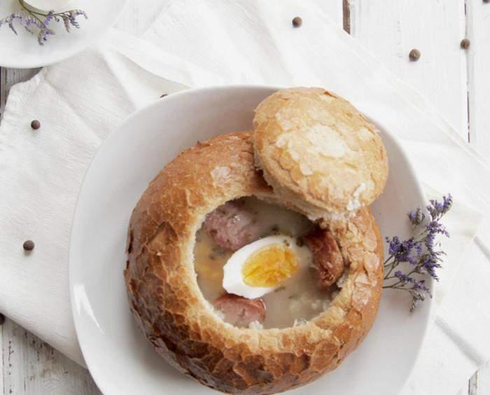 Суп у буханці хліба