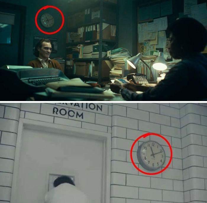 Всі годинники у фільмі