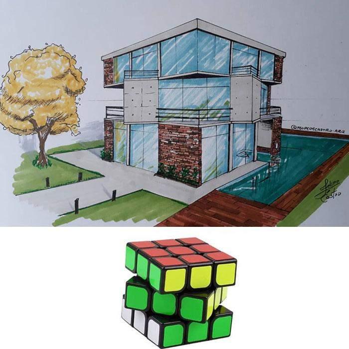 Іграшка перетворилася в оригінальну будівлю