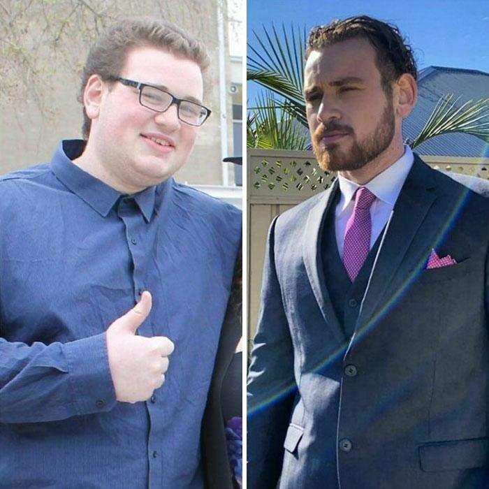 18 - 23. Я похудел и научился ухаживать за собой