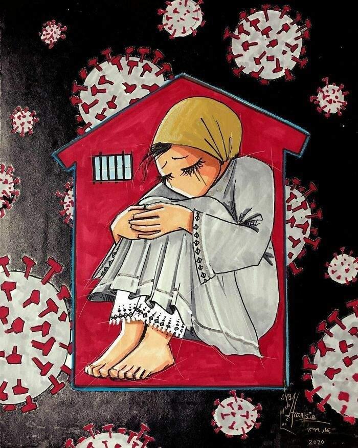 Проникливі малюнки Шамсії Хассані