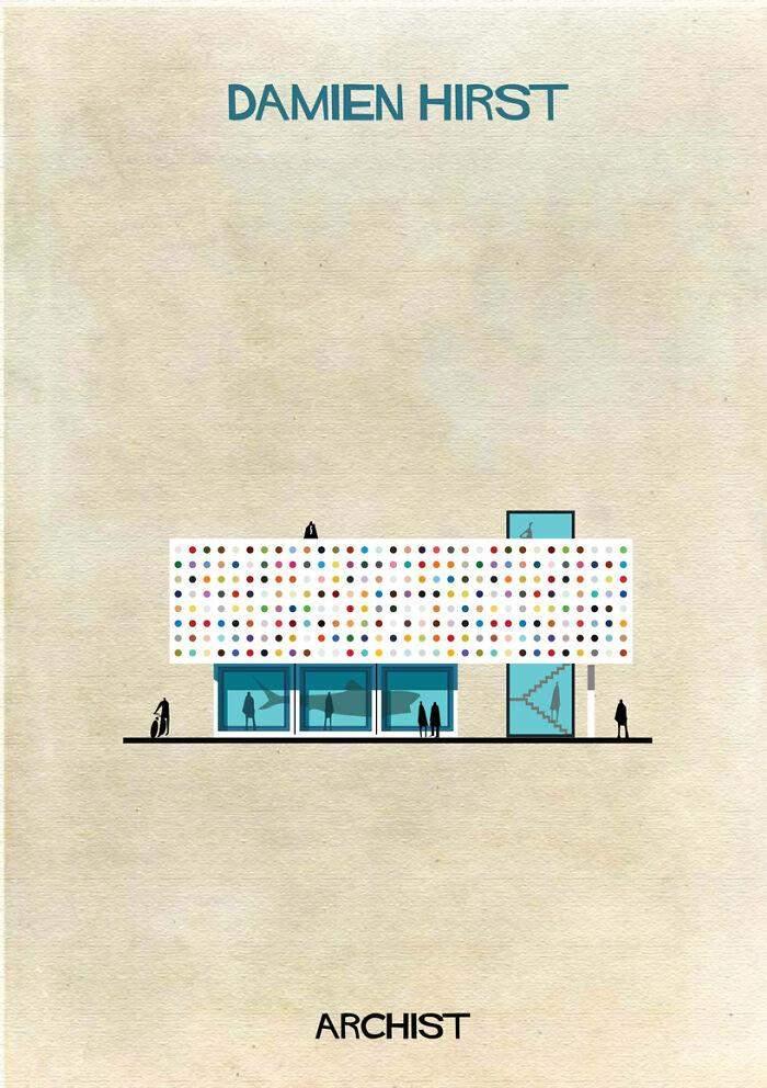 Один з найвідоміших сучасних художників міг би робити будинки-інсталяції