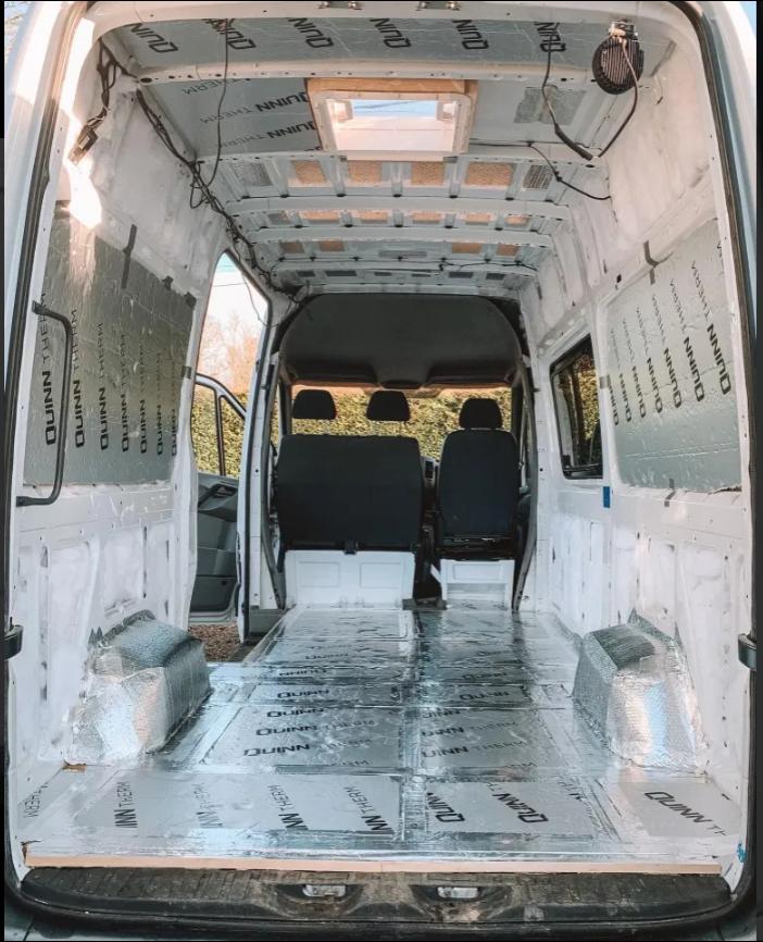 интерьер фургона