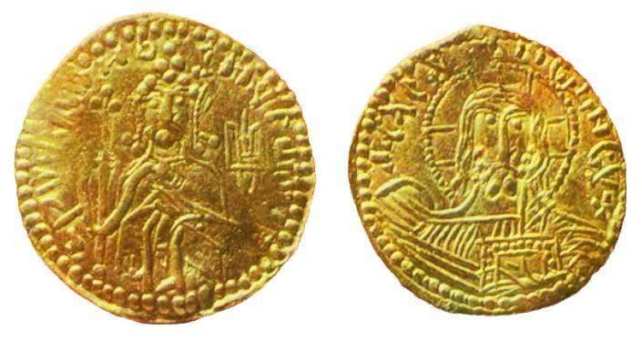 Первые монеты в Украине